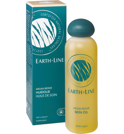 Earth Line Huid- and Massageolie Vitamine E 200ml