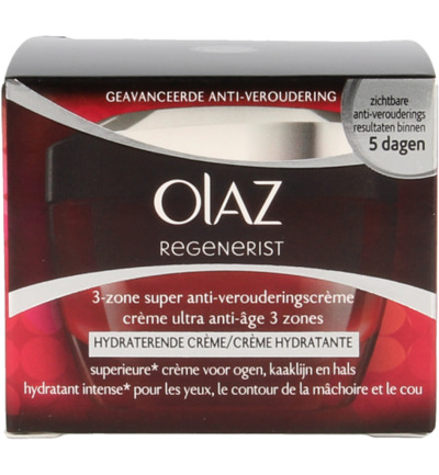 Regenerist daily 3-zone treatment