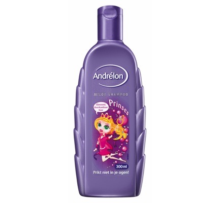 Shampoo kids prinses