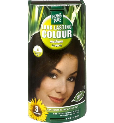 Long lasting colour 4 medium brown