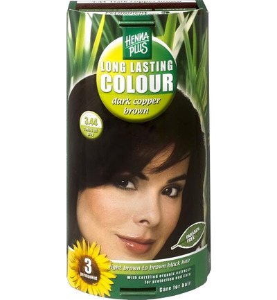 Long lasting colour 3.44 dark copper brown