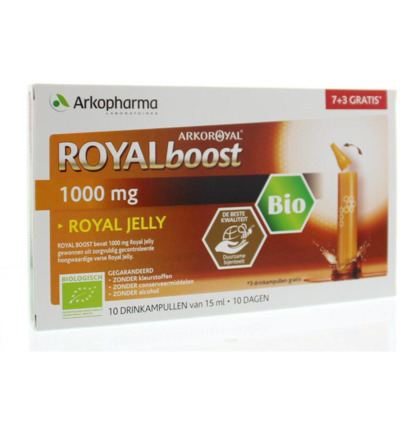 Royal Jelly boost (7 + 3) 15 ml per ampul bio