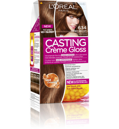 Casting creme gloss 634 Honey biscuit