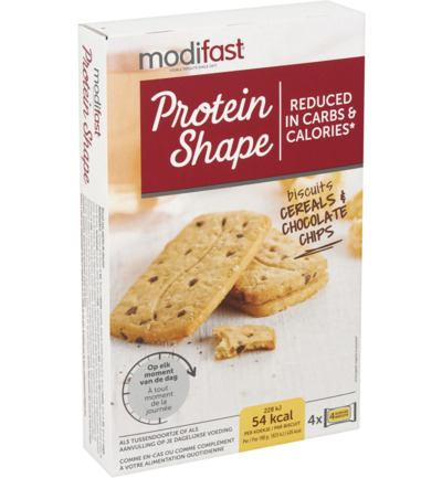 Protein Shape Biscuits Cereals & Chocolate Chips