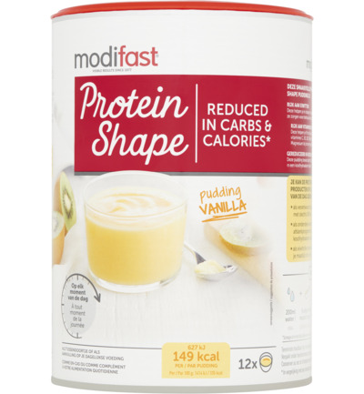 Protein Shape Pudding Vanille