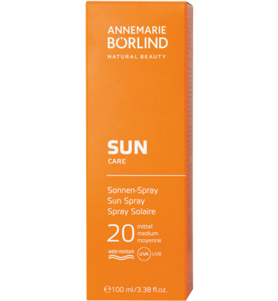 Annemarie Borlind Zonnespray Factor(spf)20 100ml