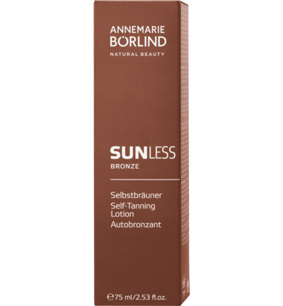 Annemarie Borlind Sun Sunless Bronze Zelfbruinende Creme 75ml