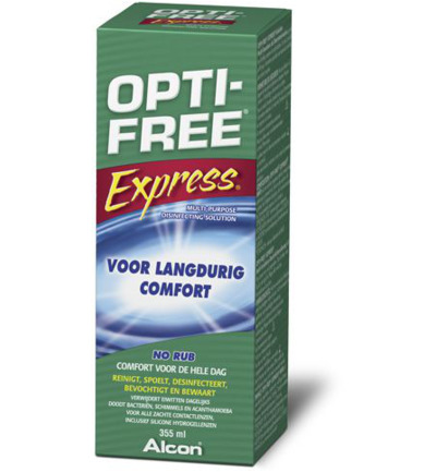 Optifree Lenzenvloeistof Express 355ml