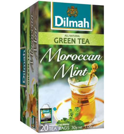 All natural green tea Moroccan mint
