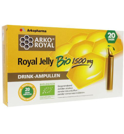 Royal jelly 1500 mg bio
