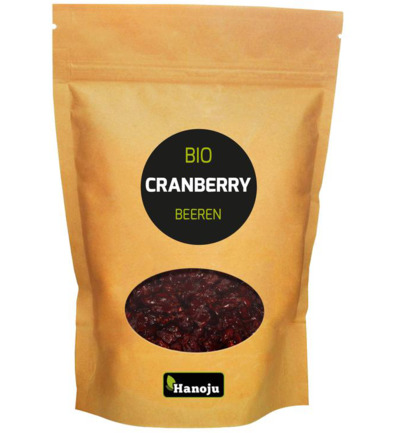 Bio cranberries paper bag