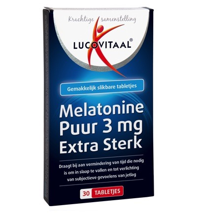 Melatonine puur 3 mg