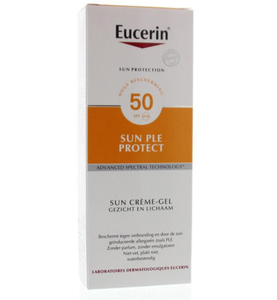 Image of Eucerin Sun Allergie Crgel F50 (150ml)