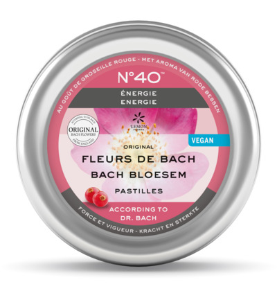Bach bloesems pastille nr 40 energie