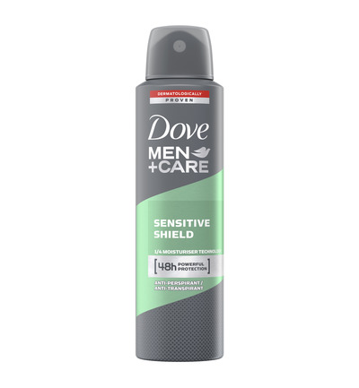 Deodorant spray men sensitive shield