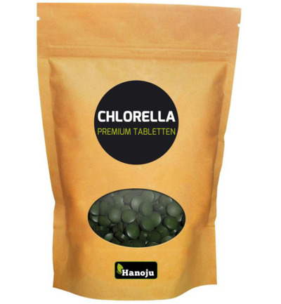 Chlorella premium 400 mg paper bag