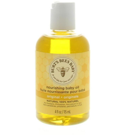 Baby bee nourishing baby oil baby olie