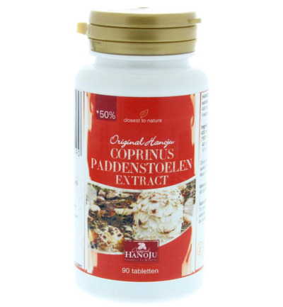Coprinus paddenstoel extract 400 mg