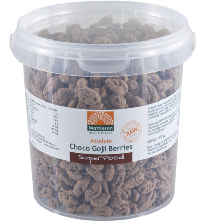 Absolute raw choco goji berry bio
