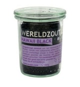 Wereldzout Hawaii Black glas