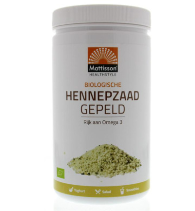 Absolute hemp seeds hulled hennepzaad gepeld bio