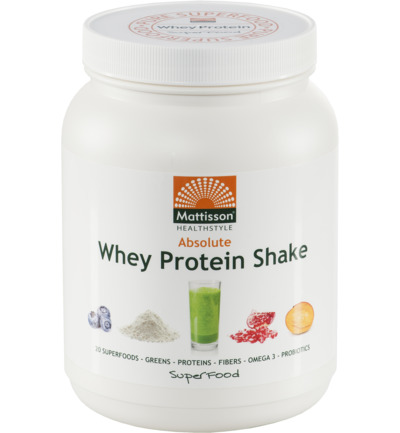 Mattisson Absolute superfood proteine whey 500g