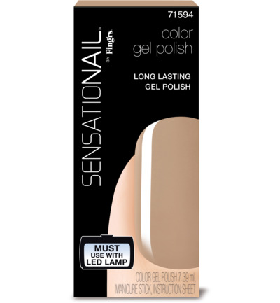 Color gel taupe tulips