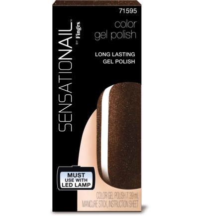 Color gel espresso bean