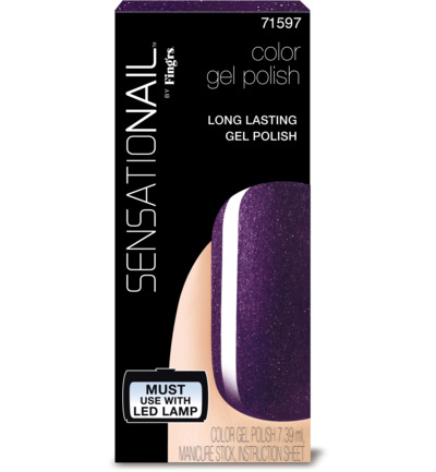 Color gel purple