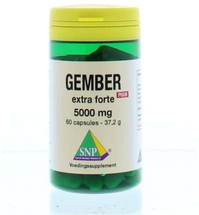 Gember 5000 mg puur