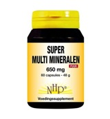 Super multi mineralen 650 mg puur