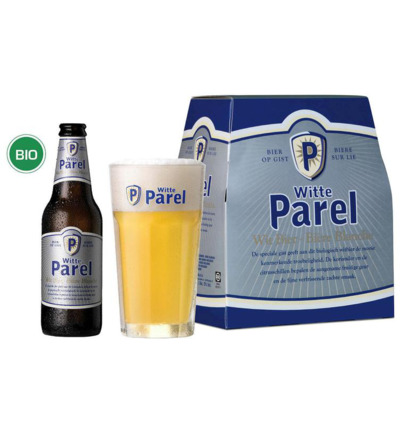 Witte parel 6-pack