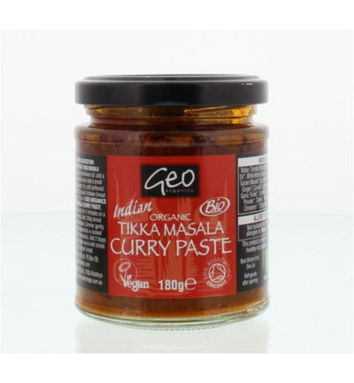 Curry paste tikka masala bio