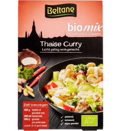 Thai curry mix bio