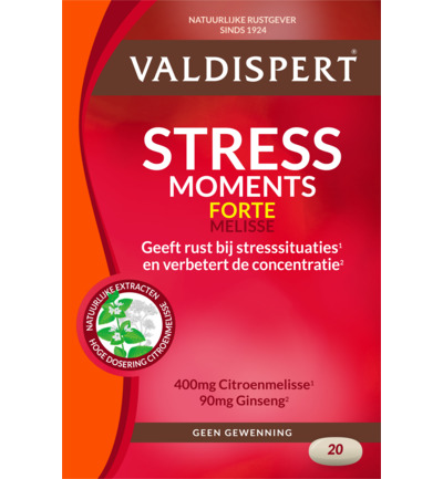 Stress moments extra sterk