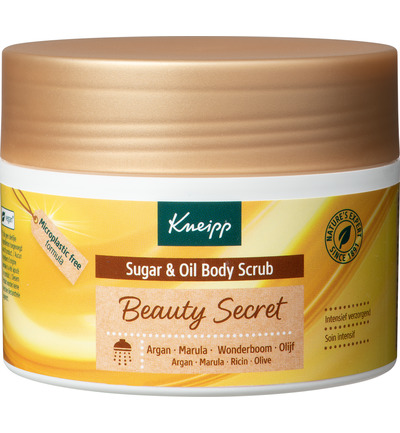 Body scrub sugar beauty geheimen