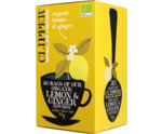 Lemon & Ginger tea bio