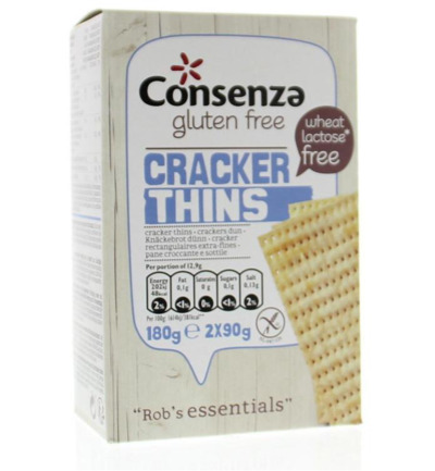 Rob's essentials cracker thins