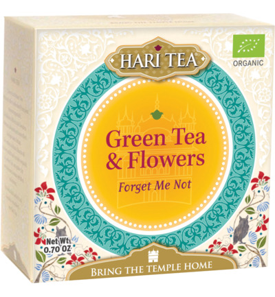 Forget me not green tea & flower bio