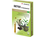 Detox drinkampullen 15 ml bio