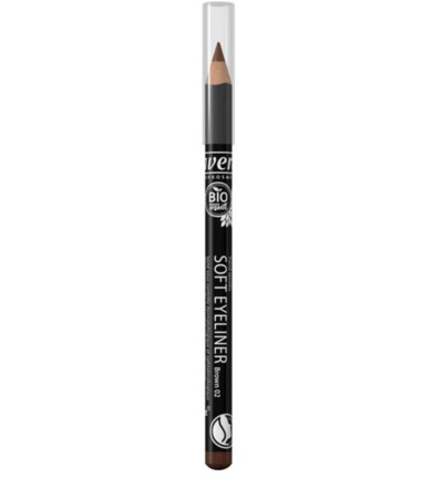 Oogpotlood/eyeliner soft brown 02