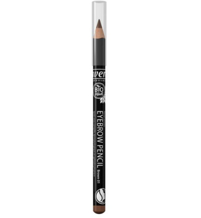Wenkbrauwpotlood/eyebrow pencil brown 01