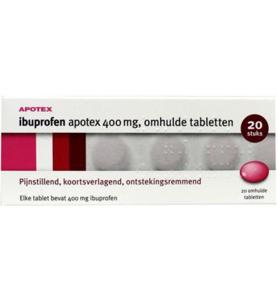 Ibuprofen 400mg apotex