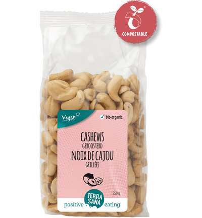 Cashewnoten roasted zout