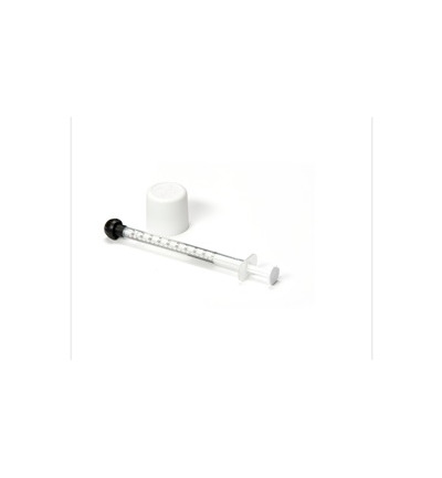 Oradose mini kinderveilige dop 18 mm + 1 ml spuit