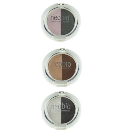 Eyeshadow duo 02 brown champagne