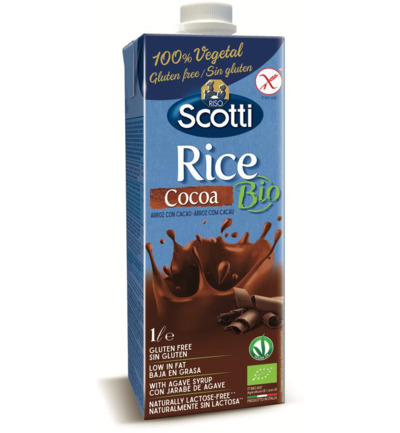Rice drink cocoa