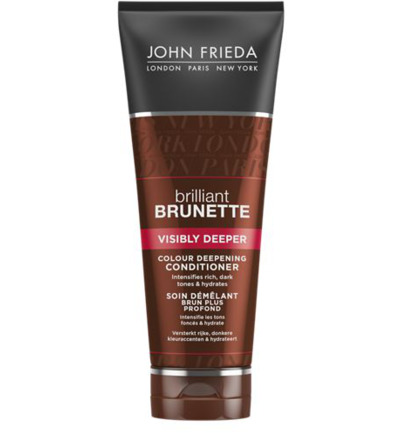 Brilliant brunette conditioner visibly deeper