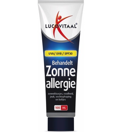 Image of Lucovitaal Zonneallergie Creme (100ml)