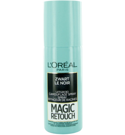 Magic retouch zwart spray